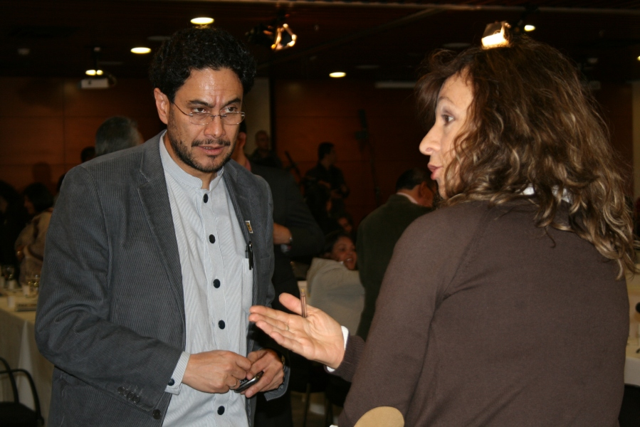 Ivan Cepeda and Angela Maria Robledo